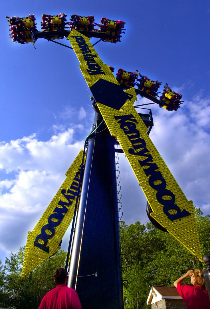 Aero 360 is a thriller! As your legs dangle, the ride swings back & forth and the arrows get higher & higher!