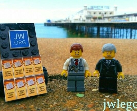 Even the Legos love JW.org