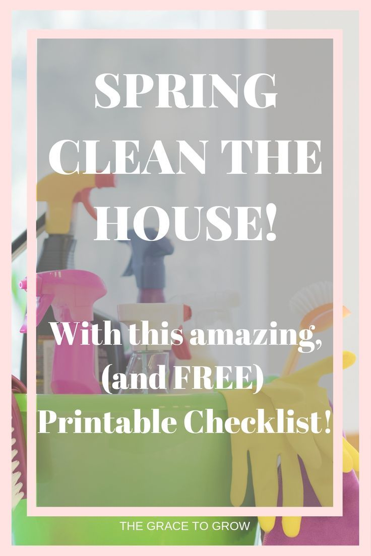 Spring Cleaning The House – Spring Clean Your Life – Part 3