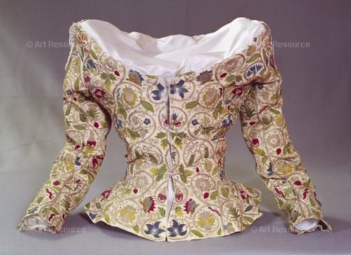 16th century CE, Elizabethan period (1553-1603), Embroidery, Jacket, Renaissance