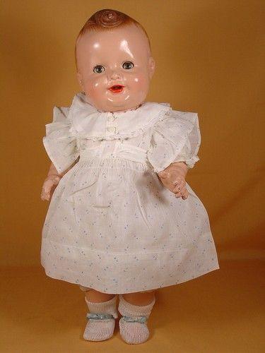 .Vintage Composition Baby Sandy Doll by FreundlichSandy Dolls, Dolls Face, Dolls Dolls, Mama Dolls, Antiques Dolls, Dolls Vii, Beautiful Dolls, Baby Dolls, Simply Dolls