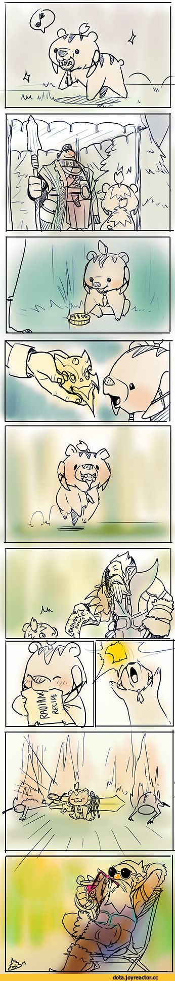 #Dota2 Sylla the Lone Druid,Dota,фэндомы,Dota Comics,песочница