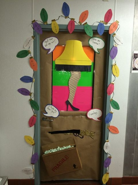 Killing The Door Decorating Contest At Work Unfortunately