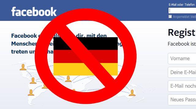 DERUWA: Meldung über Sperrung von Facebook für deutsche Nu...