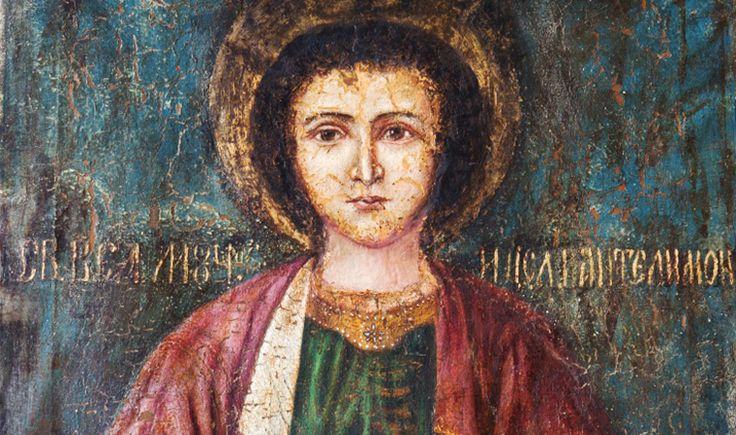 Serving the Great Physician of Saint Pantaleon.