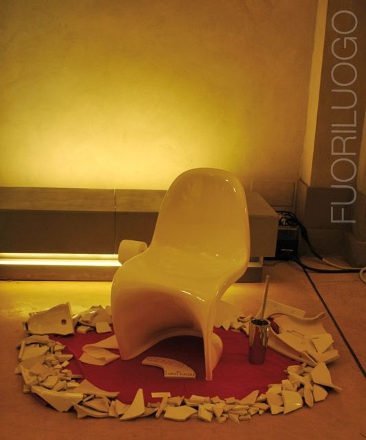"""Genesi"" by Luigi Fragola - ALL RIGHTS RESERVED [Edizione 2010 Fuoriluogo: WChairs] #art #wc #toilets #bidet"