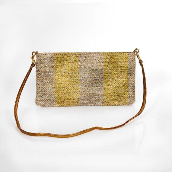 FORMAL PURSE HANDMADE bag handwoven evening bag by HandwovenByT