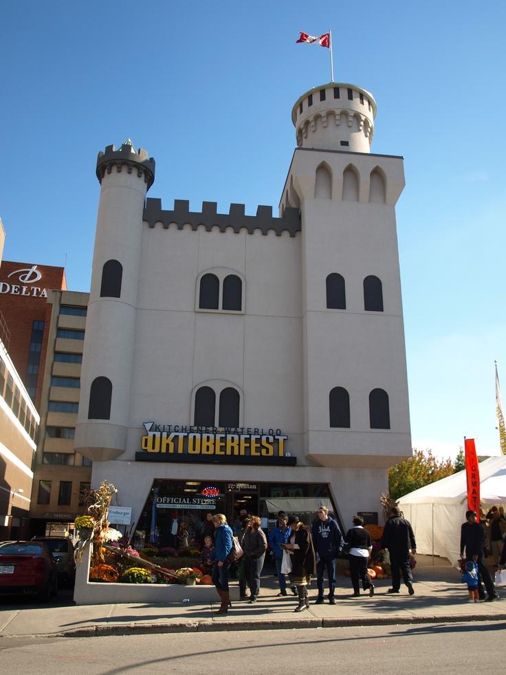 The Oktoberfest Store, downtown Kitchener, Ontario, Canada