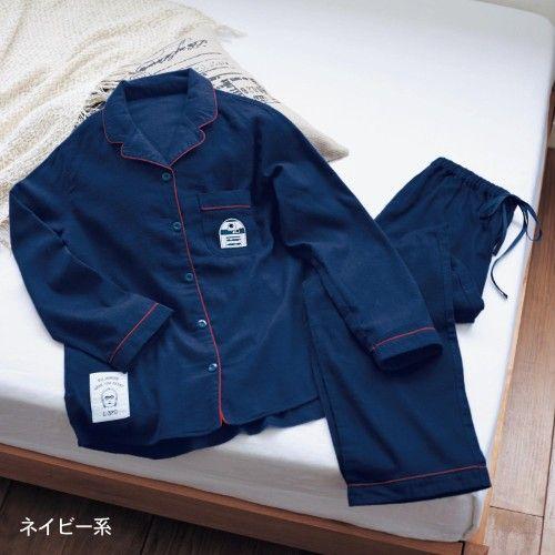 開襟パジャマ(メンズ)