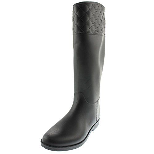 Stylish Womens Rain Boots Women's Water Shoess High Leg With Cute Pattern Tyc168 -- Click image for more details.