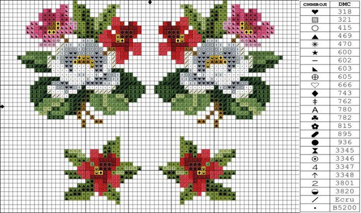 Gallery.ru / Фото #115 - Схемы вышивки крестом - pustelga