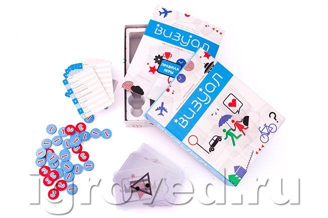 Настольная игра Визуал (Imagine) | Купить настольные игры. Игровед: Москва, Питер