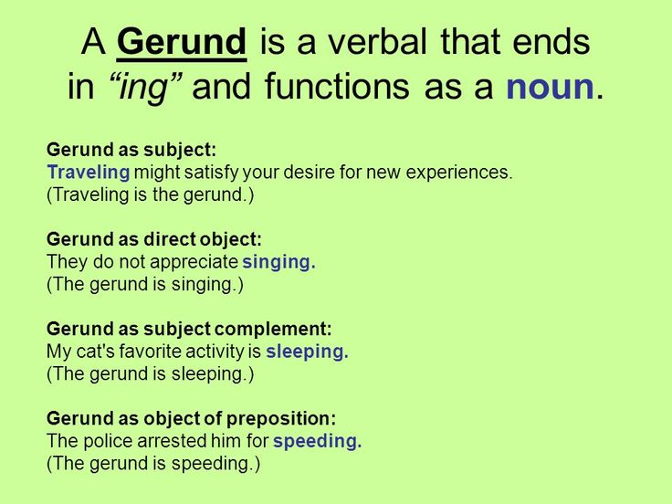 285 Best Gerundsinfinitives Images On Pinterest Advanced English