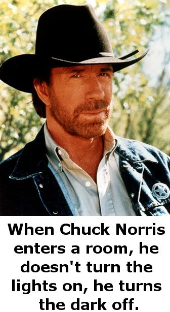 Love chuck Norris funnies :)