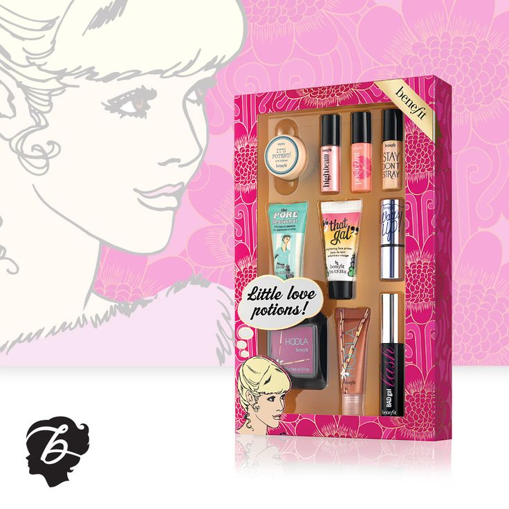 Holiday 2013 Set - little love potions #holiday #benefitbeauty #beauty