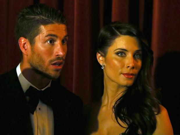 Either central defender or right back pro footballer Sergio Ramos' girlfriend is super hot! Pilar Rubio might be a few years older than her beau.