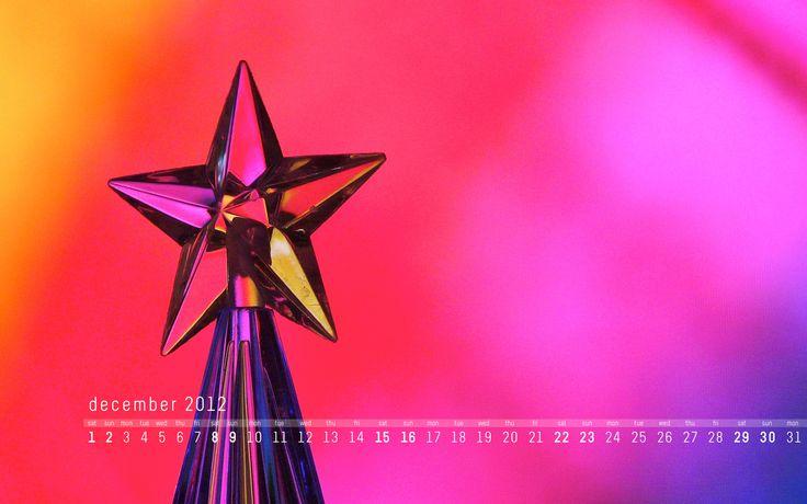 December 2012 calendar desktop wallpaper | davehornsby