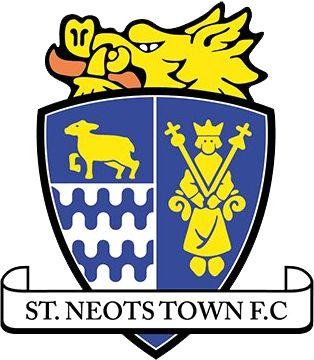 1879, St Neots Town F.C. (England) #StNeotsTownFC #England #UnitedKingdom (L16556)