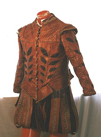 Leather hunting suit for Earl of Sussex