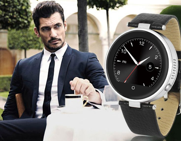 ZGPAX S365 1.22 Touch Screen Smart Bluetooth Watch For Android IOS Phone Data Sync Message Pushing Pedometer Sleep Monitor.