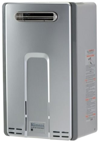 Rinnai RL75eN Exterior Nat. Gas Tankless Water Heater 82% Efficiency