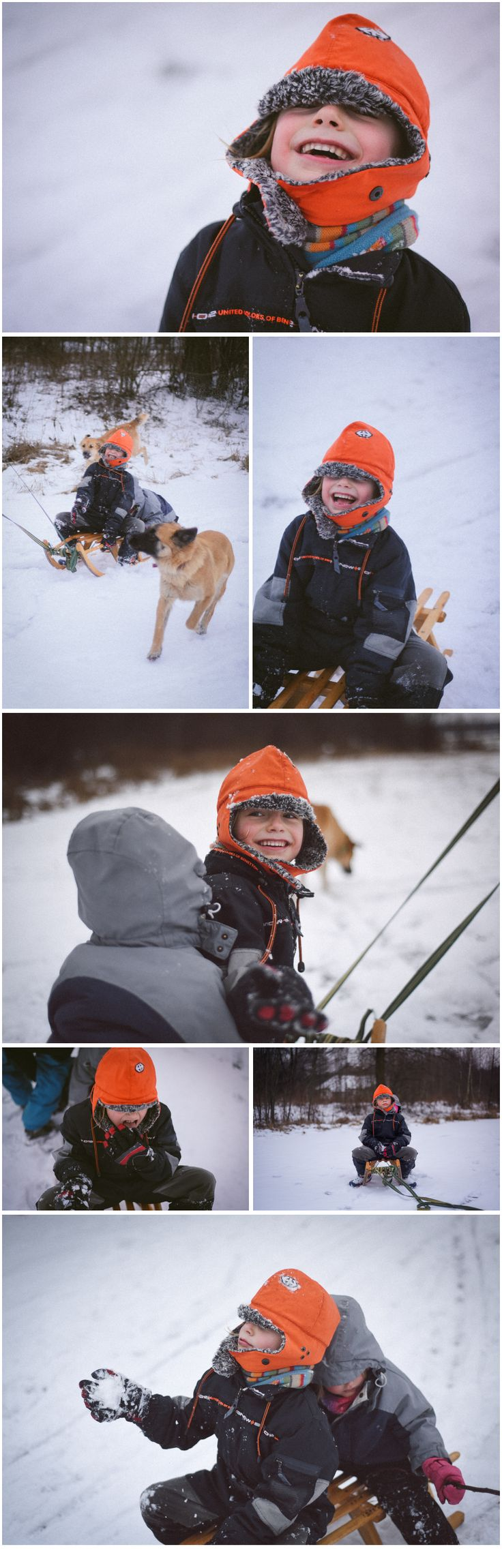 winter time with kids!