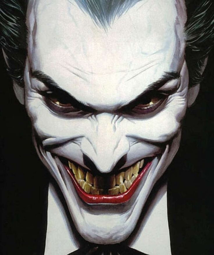Joker by Alex Ross.