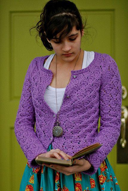 Que Sera Cardigan By Kirsten Kapur - Free Knitted Pattern - (ravelry)