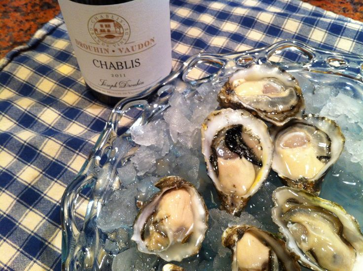 a visit out to Taylor Shellfish Farms for Kumamoto oysters, paired at home with 2011 Joseph Drouhin Chablis