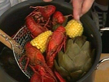 Emeril's crawfish recipe...looks good