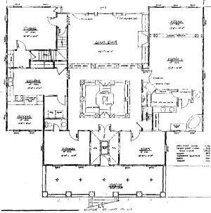 Country home blueprints bedroom bath with second living for Country living house plans you can buy