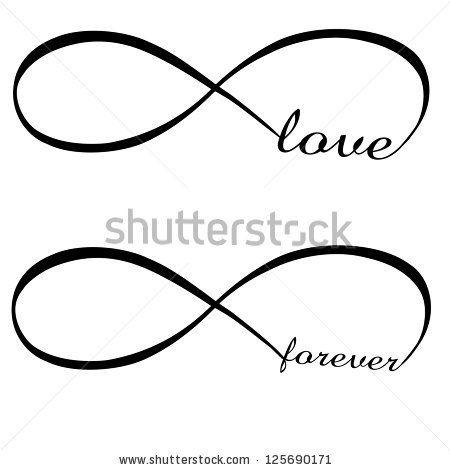 Infinity love, forever symbol by Artgraphixel.com, via ...