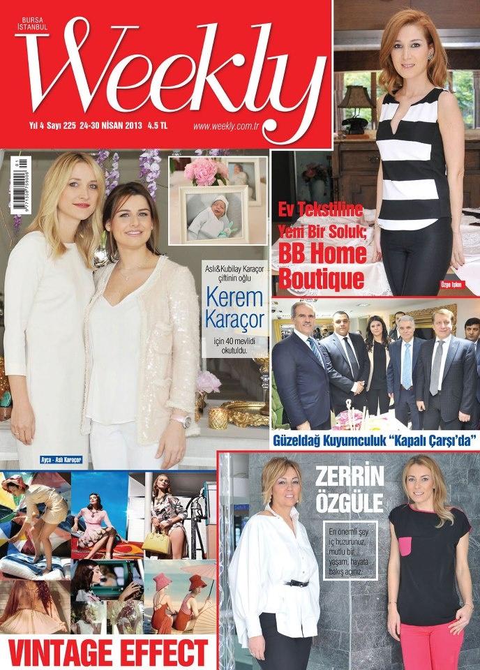 Weekly Dergisi, 24 - 30 Nisan sayısı yayında! Hemen okumak için: http://www.dijimecmua.com/weekly/