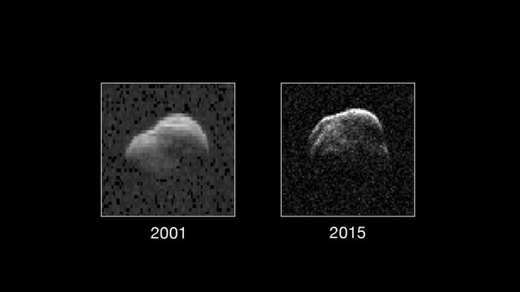 Asteroid 1998 WT24 safely flew past Earth on Dec. 11 at a distance of about 2.6 million miles (4.2 million kilometers, 11 lunar distances). During its flyby, NASA scientists used the 230-foot (70-meter) DSS-14 antenna at Goldstone, California, to probe it with microwave transmissions. Using this technique, they created the highest-resolution radar images of the asteroid.
