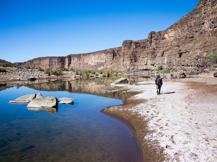 Drei Tage #Mule #Trekking im #Fishriver #Canyon - #Namibia - Reiseblog