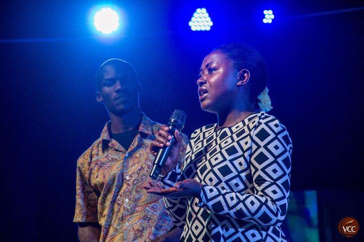 Testimony time at Victory City Church Ntinda