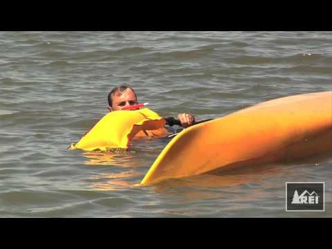 How to do a self rescue after your kayak capsizes. I'm going to have to practice this one!