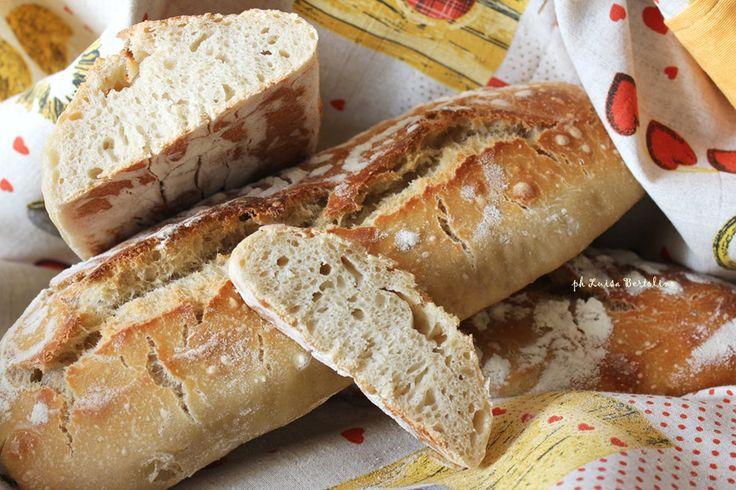 Filone di pane  croccante