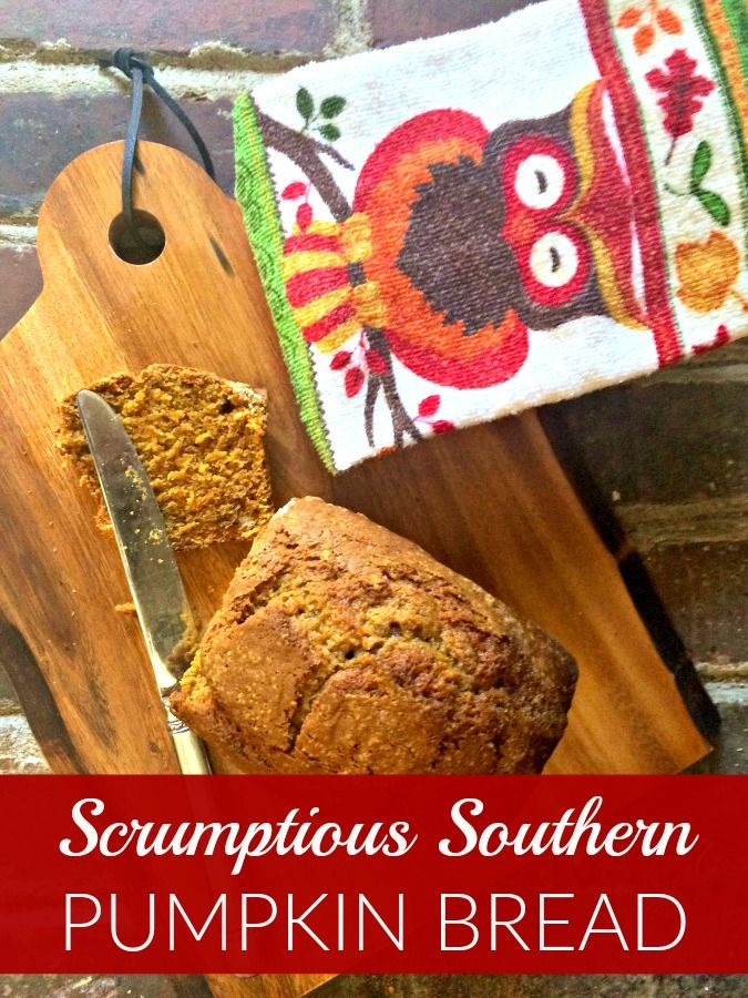 Easy and delicious pumpkin bread recipe, perfect for crisp and cool fall mornings. Makes a great breakfast treat with your morning coffee!