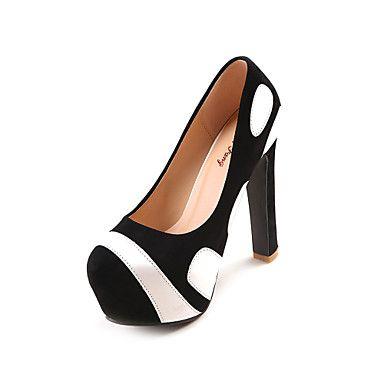 Satin Women's Chunky Heel Platform Pumps Shoes(More Colors) – USD $ 49.99