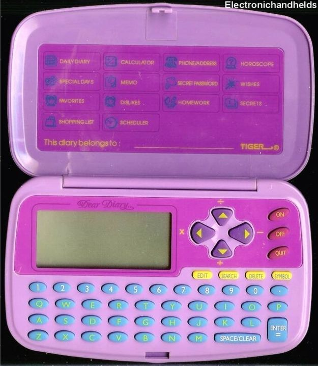 Talkback Dear Diary hahaha my friend had one of these i remember the commercial for it too so funny (flash back)