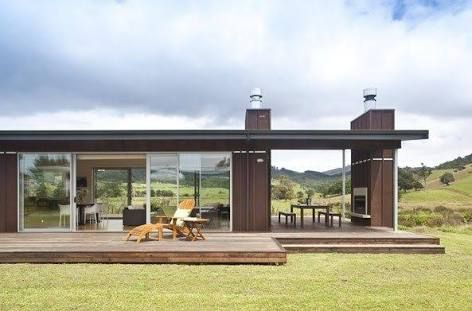 beach homes rustic mono pitch roof - Google Search