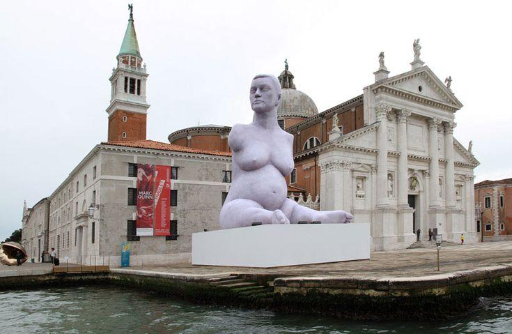 marc quinn: breath at the venice art biennale 2013