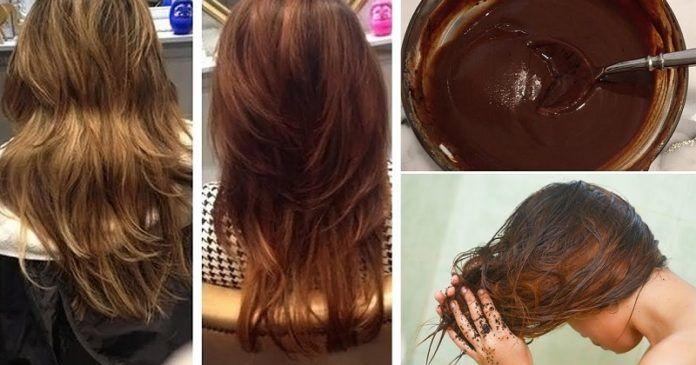 maseczka na porost włosów z kawy
