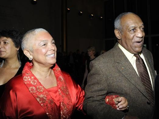 bill & camillecosby  BACK WHEN WOMEN STILL TOOK THERE HUSBANDS LAST NAME :)