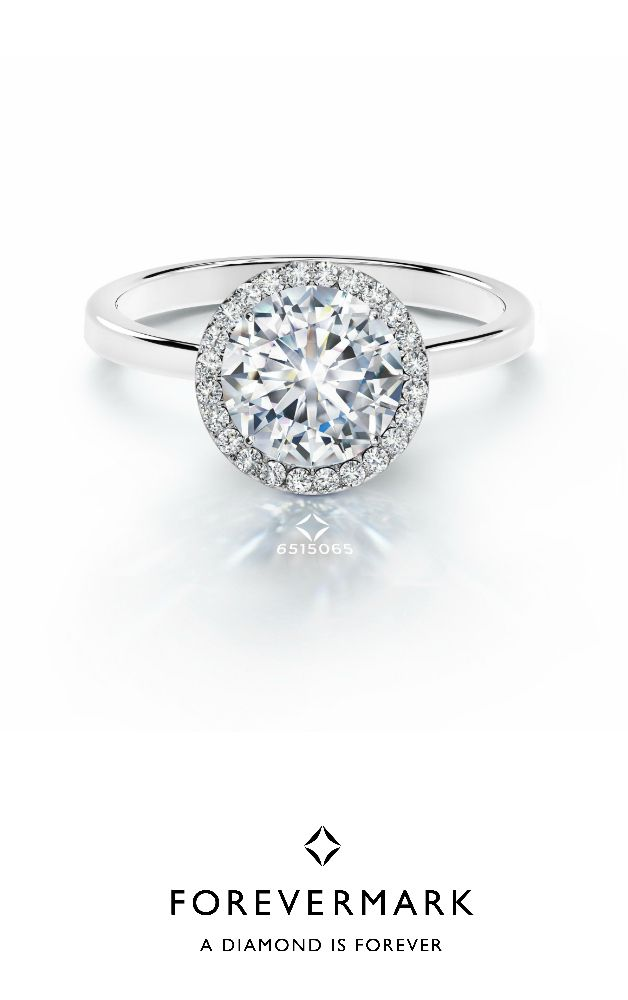 engagement round of ring diamonds diamond total classic carat agy picture