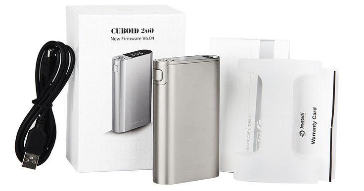 Joyetech Cuboid 200W TC Box Mod Rechargeable Battery Charger Authentic  #Formefantaisie