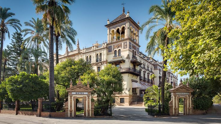 Exterior views of Hotel Alfonso XIII, a Luxury Collection Hotel.