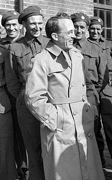 Tommy Douglas - the father of Medicare in Canada - winner of Greatest Canadian vote in 2005 - grandfather of Kiefer Sutherland.  Lived in Winnipeg as a child.  Witnessed the 1919 General Strike at the age of 15.