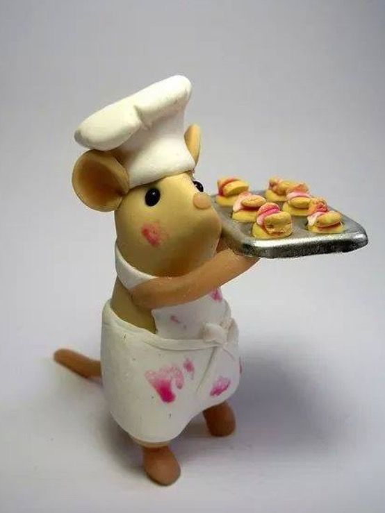 I present to you this Chef Mouse! Good Morning! #ChefMouse #GoodMorning